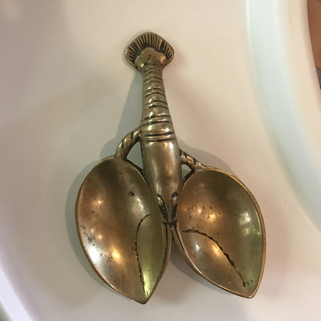Vintage Brass Lobster - Image 4 of 7
