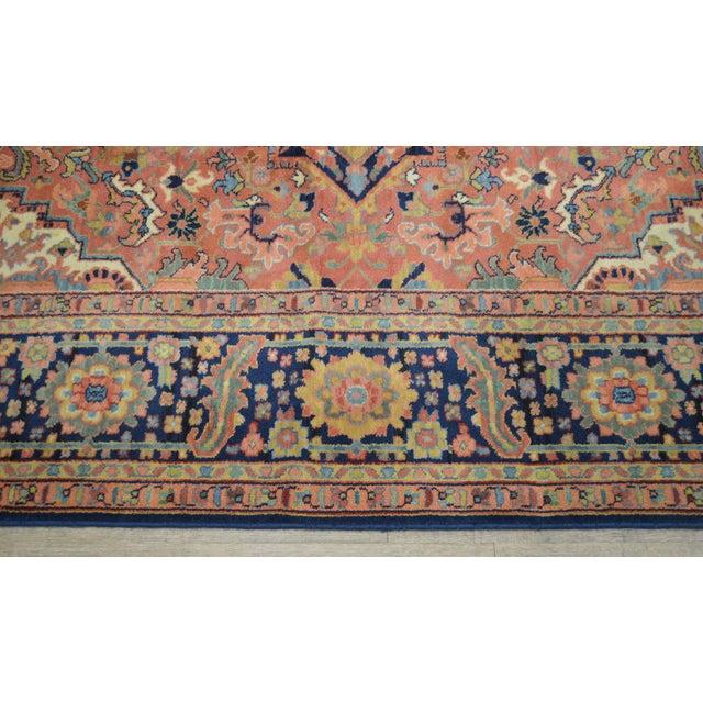 Karastan Heriz Serapi 9 X 12 Room Size Rug # 726 For Sale - Image 9 of 13