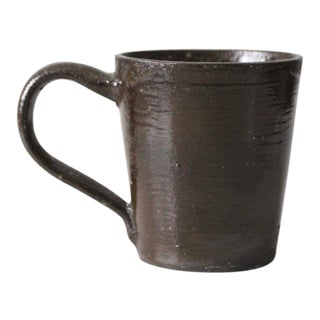 Grit and Furrow Hand Crafted Pottery Mug For Sale