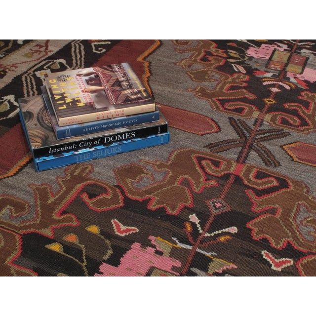 Large Kars Kilim For Sale In New York - Image 6 of 7