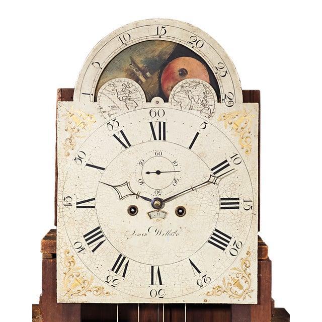 Brass Simon Willard Roxbury Tall Case Clock For Sale - Image 7 of 10