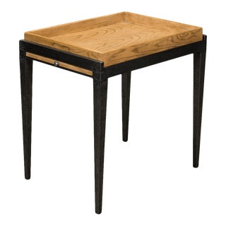 Chrysler Side Table, Heather Grey For Sale