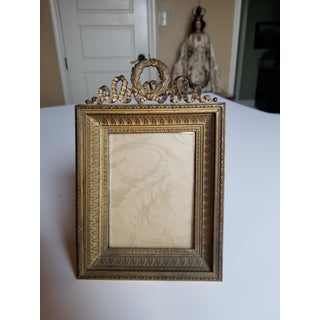 Antique Bronze Picture Frame Preview
