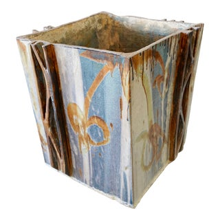 Large Decorative Ceramic Vessel