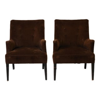 Mid-Century Modern Arm Chairs - A Pair For Sale