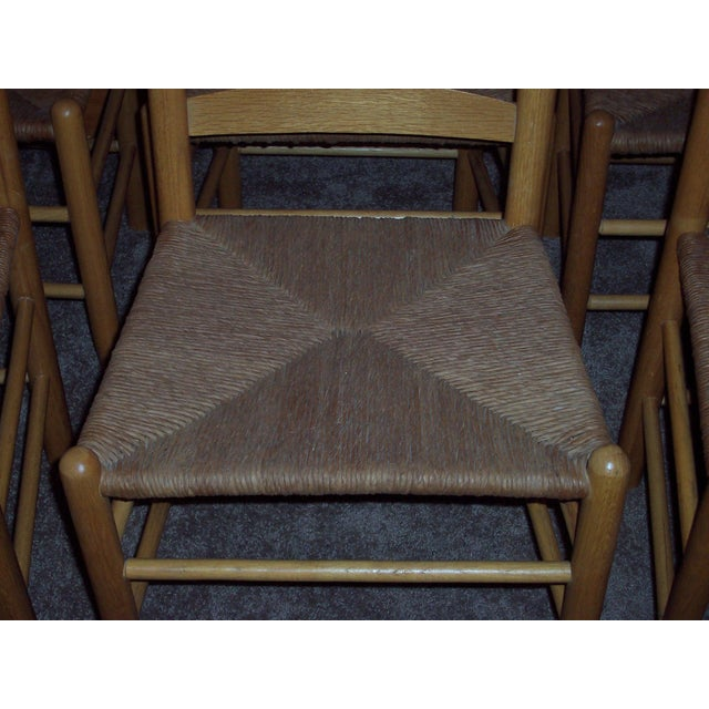 Set of 6 Ladder Back Chairs - Image 4 of 6
