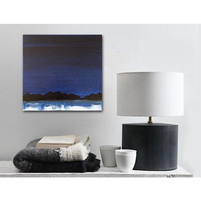 "Linnea Heide ""Midnight Range"" Original Painting - Image 4 of 6"