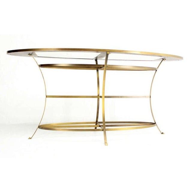 Large Oval Display Table For Sale - Image 9 of 10