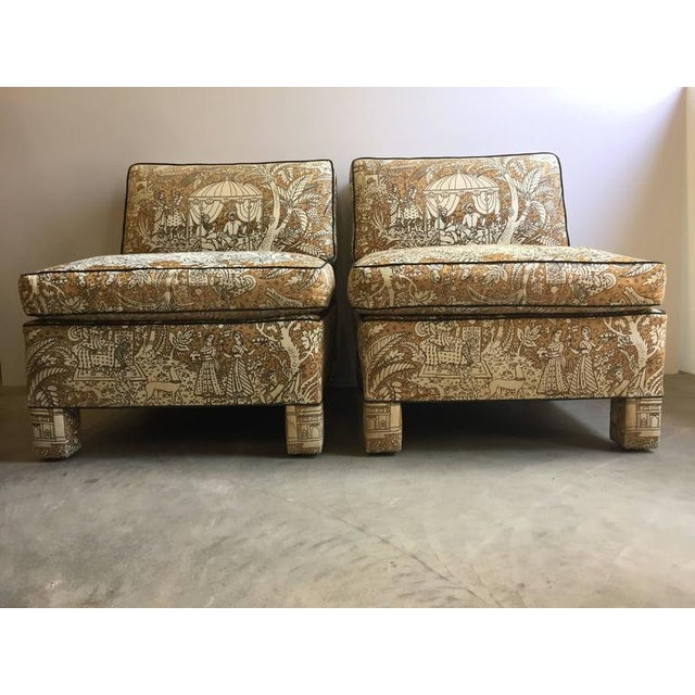 Vintage Billy Baldwin Club Lounge Chairs - A Pair - Image 2 of 5