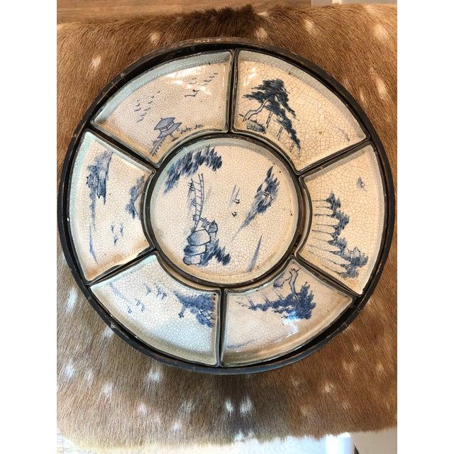 Antique Asian Dim Sum Tray For Sale In San Antonio - Image 6 of 6