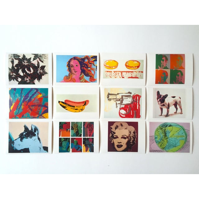 "Andy Warhol Vintage 1989 Pop Art ""AW Estate Foundation"" Postcard Prints - Set of 12 - Image 8 of 9"