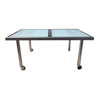 Design Institute of America Aluminum Dining Table