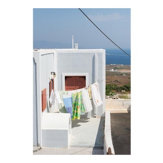 "Contemporary Large Photo Pigment Print, ""Greek Laundry"" by Nicole Cohen"