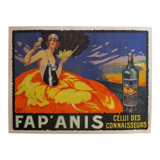 1935 Original Fap'Anis Advertisement - Delval