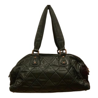 "Chanel Black Calfskin ""Large Tote"" For Sale"