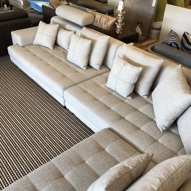 2010s Cepella Left Seated Sectional by Scandinavian Designs For Sale - Image 5 of 11