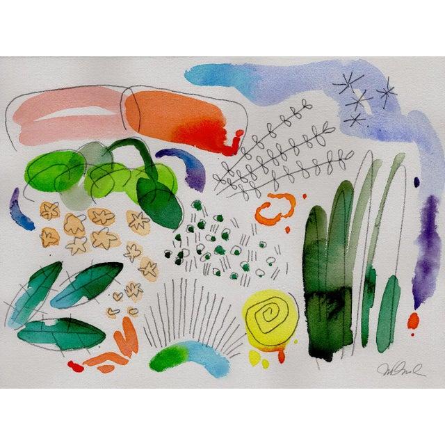 "Steve Klinkel Set of 12 8x10"" Giclee Prints of Botanical English Garden Series Watercolors. For Sale - Image 4 of 5"