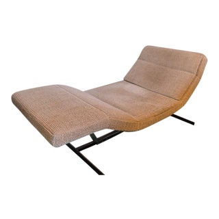 1980s Contemporary Saporiti Tan Bench