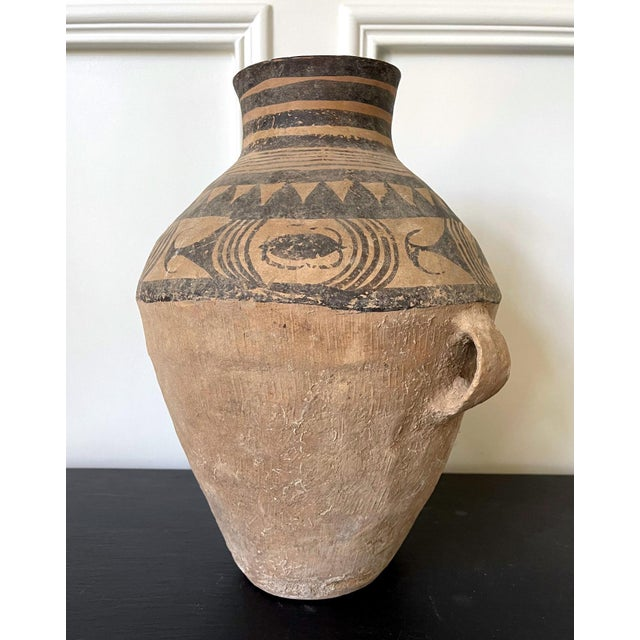 Ceramic Chinese Neolithic Painted Pottery Jar For Sale - Image 7 of 13