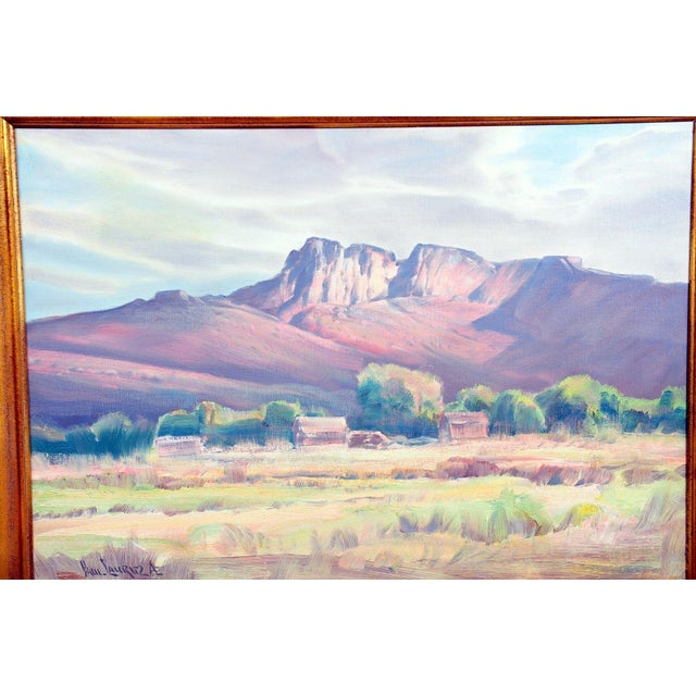 """Paul Lauritz """"Zion National Park"""" Oil Painting - Image 3 of 11"""