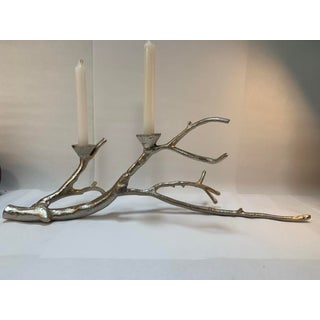 Silver Finish Branch Centerpiece Candelabra Candle Holder Preview