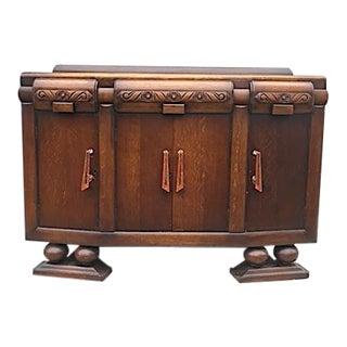 1930s Art Deco Bakelite Wooden Dry Bar