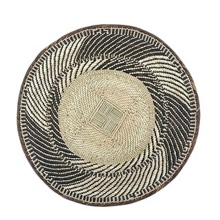 African Tonga Wall Decor Basket For Sale