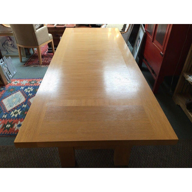 Christian Liaigre Holly Hunt Abyss Dining Table - Image 6 of 9