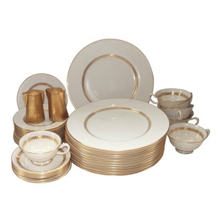 Lenox Bone China Imperial Dinnerware Place Settings for 12 (32 Pcs.)