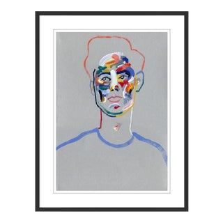 Walter by Robson Stannard in Black Frame, XS Art Print For Sale