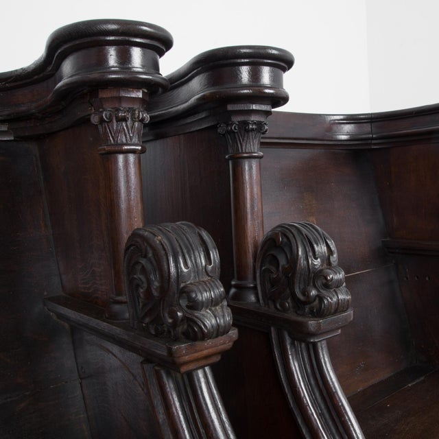 Wood 19th Century French Choir Stalls - a Pair For Sale - Image 7 of 13