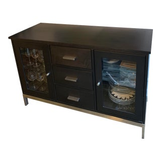 Room & Board Linear Custom Cabinet For Sale