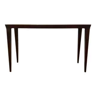 Sherrill Co. Transitional Wood Console Table For Sale