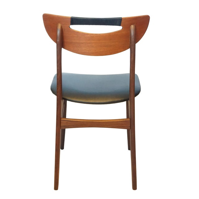 Mid-Century Modern Teak Dining Chairs - Set of 6 - Image 5 of 6