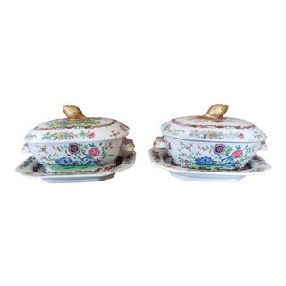 Pair of 19th Century Spode Tureens For Sale