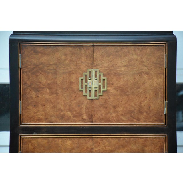 Century Furniture Chin Hua Collection Armoire - Image 6 of 11