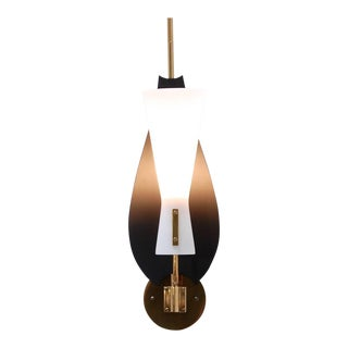Modern Leaf Sconce For Sale