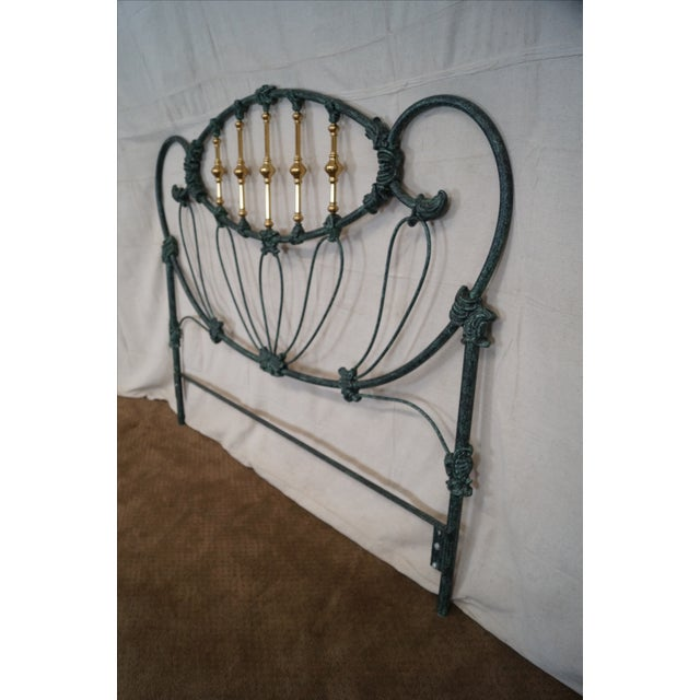 Elliots Designs Inc. Queen Headboard & Footboard For Sale - Image 7 of 10