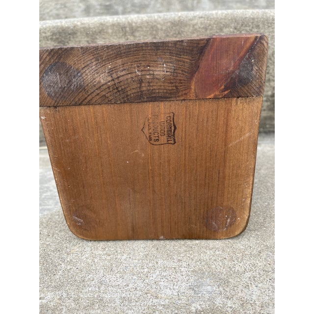 1970s Brass & Walnut Golf Club Bookends For Sale - Image 5 of 11