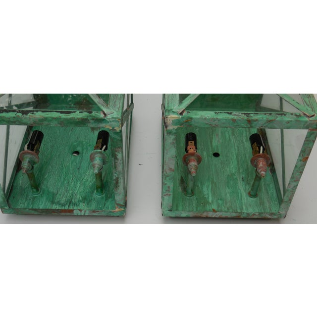 Copper Lanterns - A Pair - Image 7 of 11