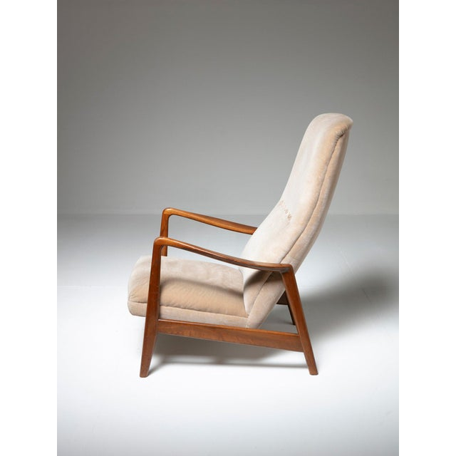Mid-Century Modern Lounge Chair by Arnestad Bruk for Cassina For Sale - Image 3 of 8