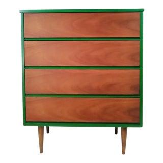 High Gloss Mid-Century Modern Chest of Drawers Loft Furniture Industrial Bohemian Minimal Vintage Retro Mid Century Modern Nursery