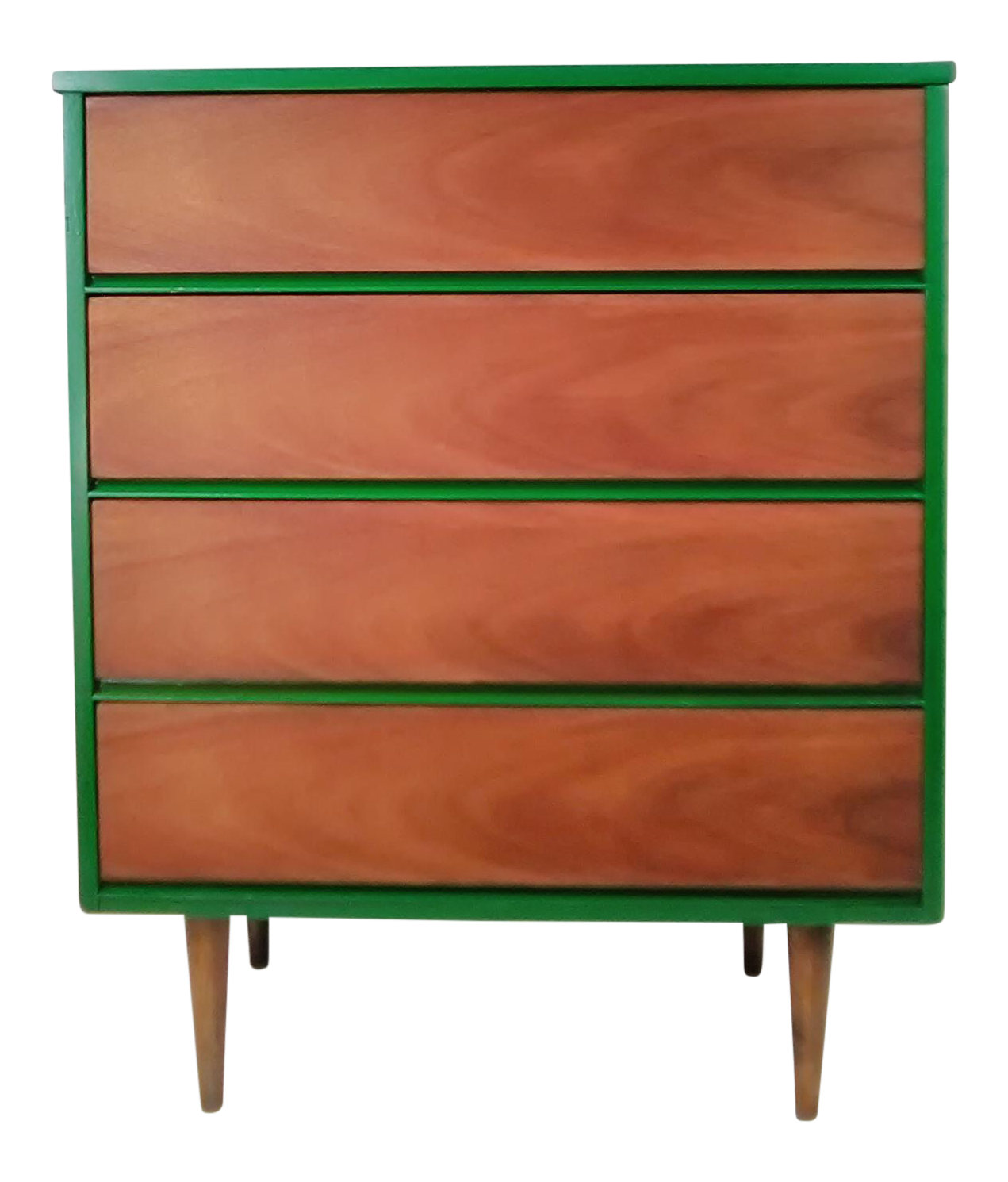 Mid Century Modern Dresser Green Dresser Modern Furniture Industrial  Bohemian Minimal Vintage Retro Mid Century