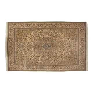 """Vintage Tabriz Carpet - 10'5"""" X 15'11"""" For Sale"""
