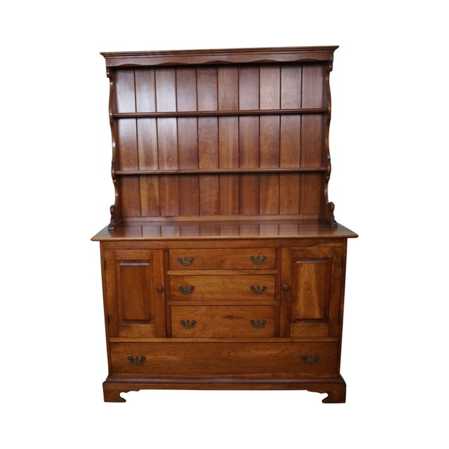 Stickley Vintage Cherry Open Hutch Cupboard - Image 1 of 10