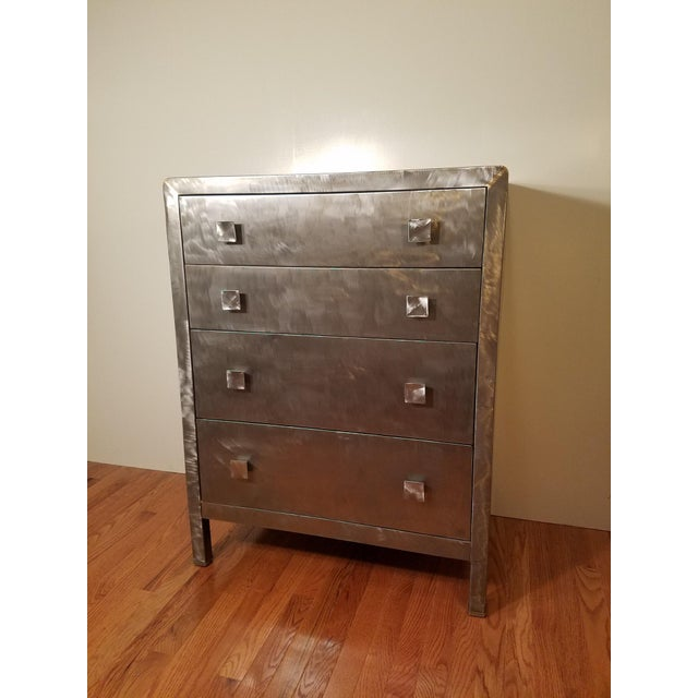 Norman Bel Geddes Metal Dresser - Image 2 of 7