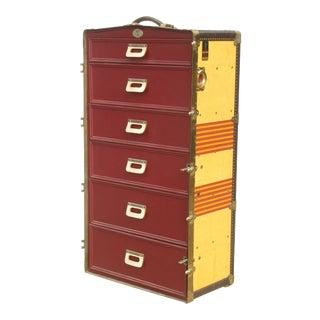 Vintage Oshkosh Trunk Dresser