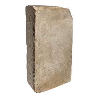 1920's Lithographic Printing Stone Washington State For Sale