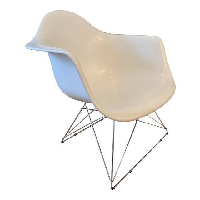 Modernica Eames Fiberglass Shell Chair With Case Study Low Base For Sale