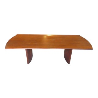 Mid Century Modern Coffee Table Manner of Frank Lloyd Wright For Sale